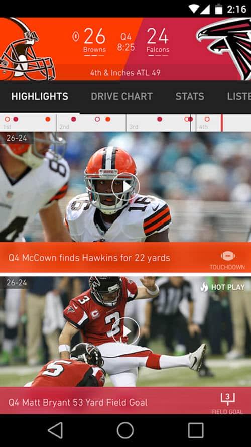 NFL App 3