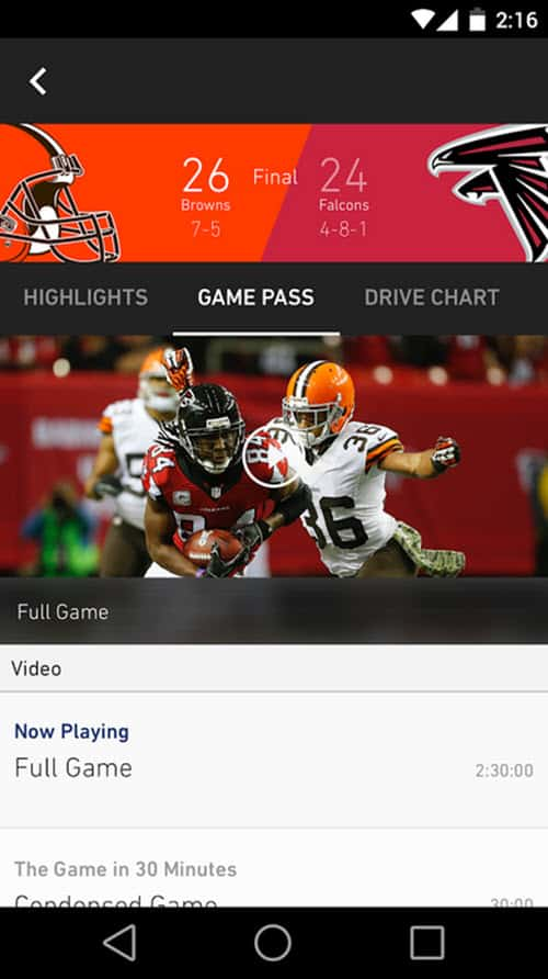 NFL App 4