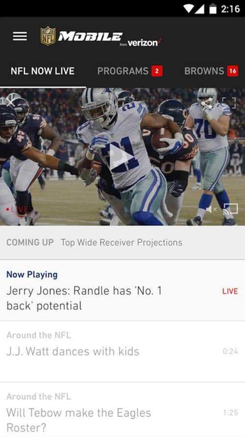 NFL App 5