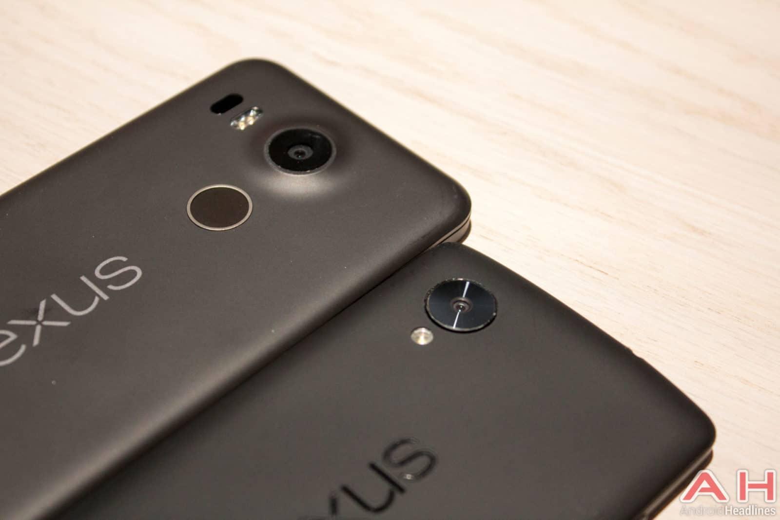 Nexus 5 vs Nexus 5X AH 2