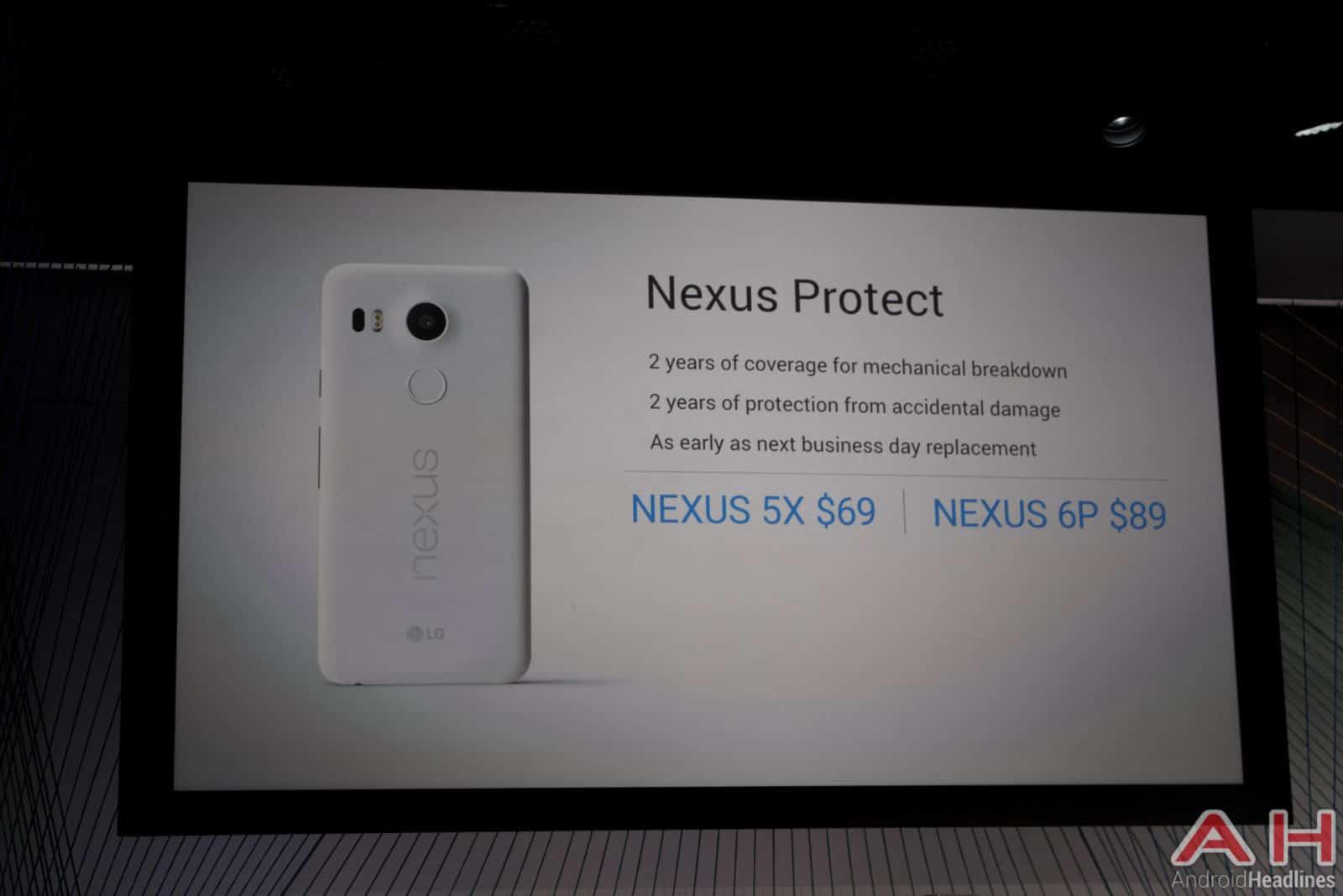 Nexus 5X, 6P Event AH 23