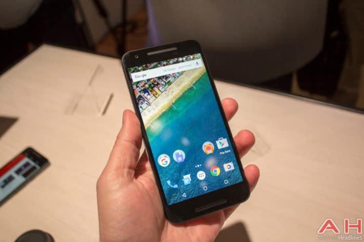 Nexus 5X Hands On AH 1