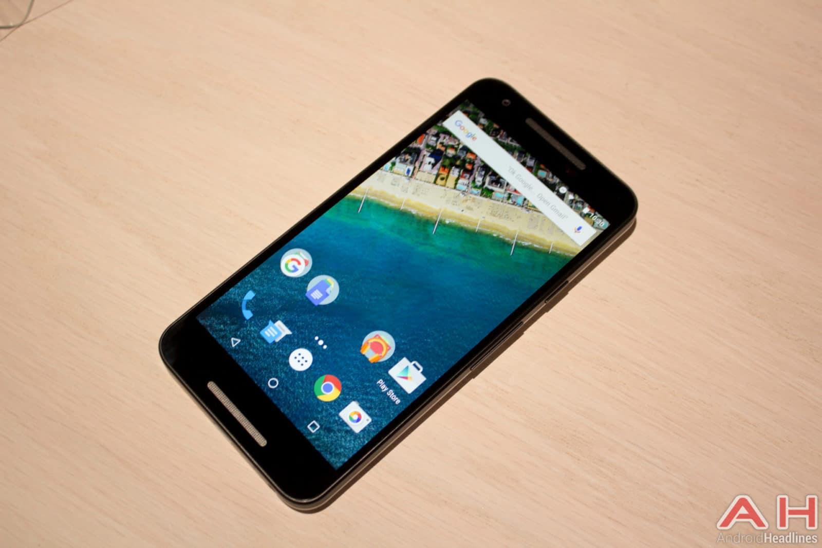 Nexus 5X Hands On AH 17