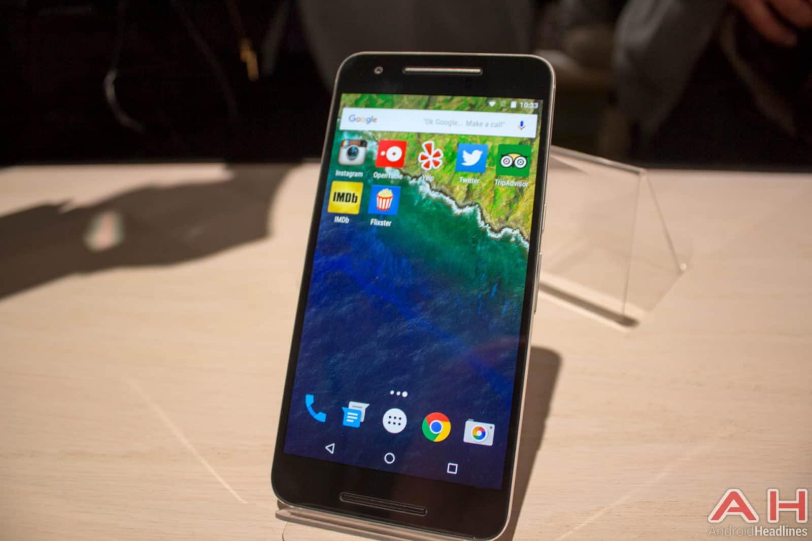 Nexus 5X Hands On AH 21