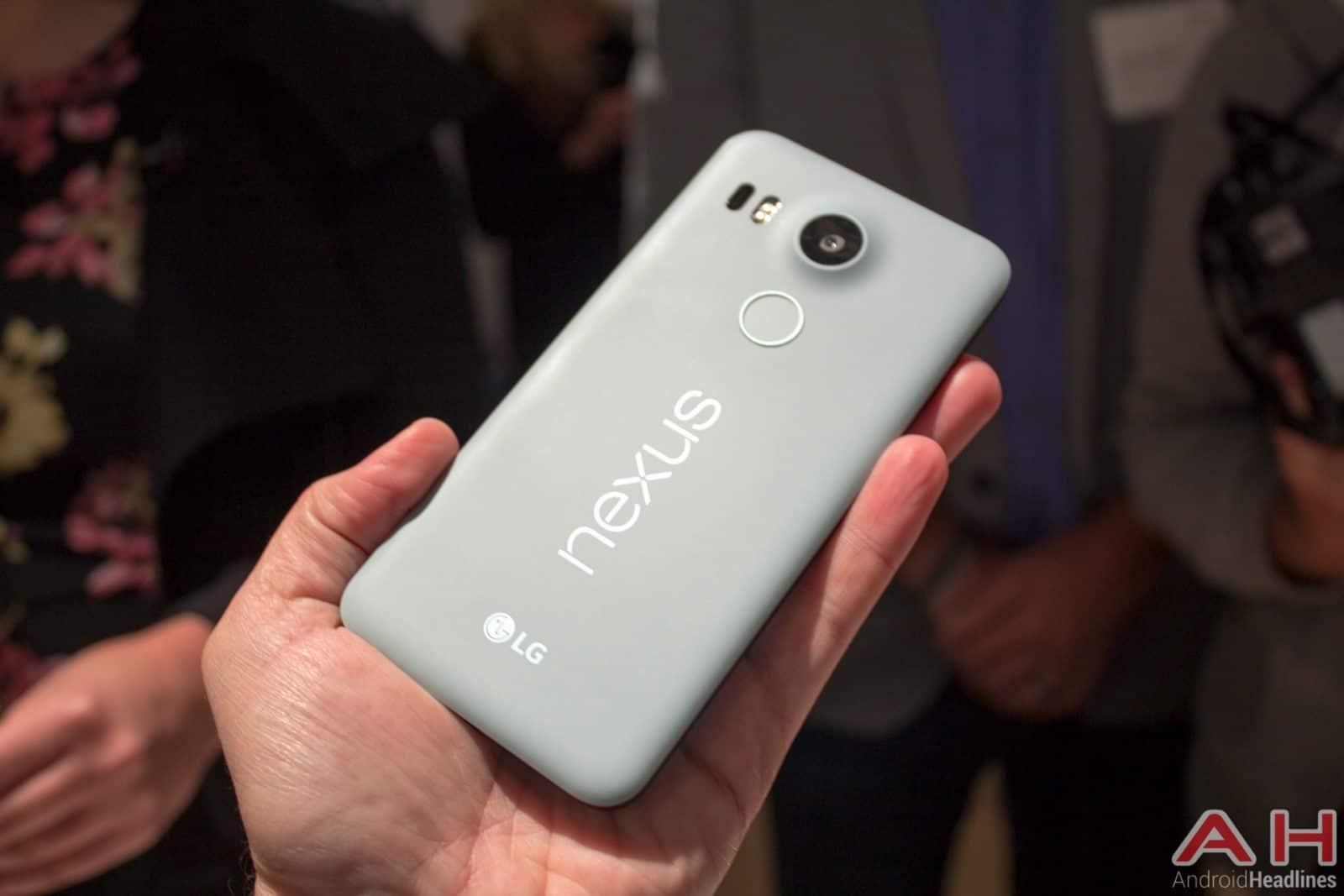 Nexus 5X Hands On AH 26