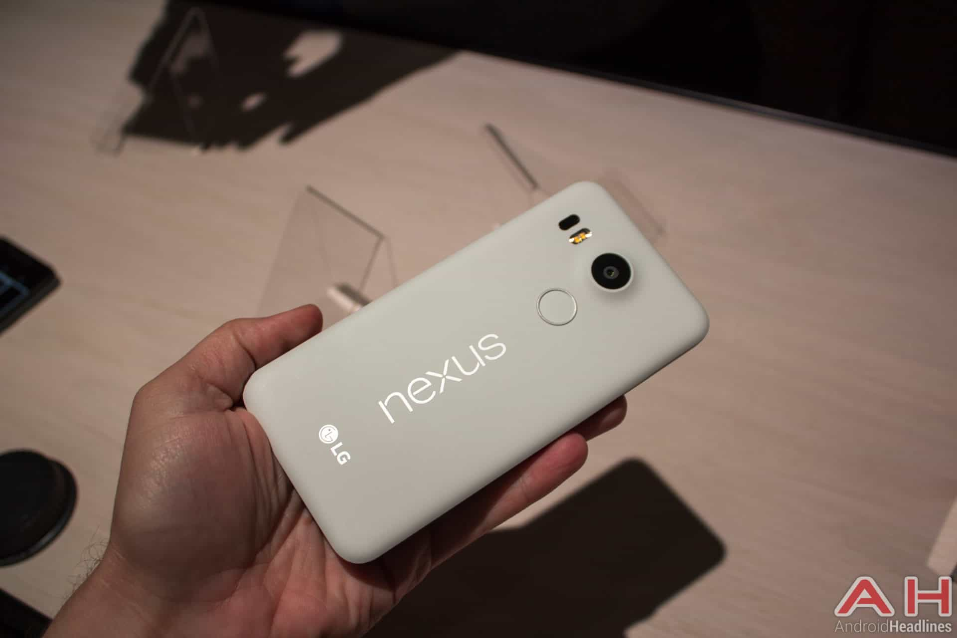 Nexus 5X Hands On AH 5