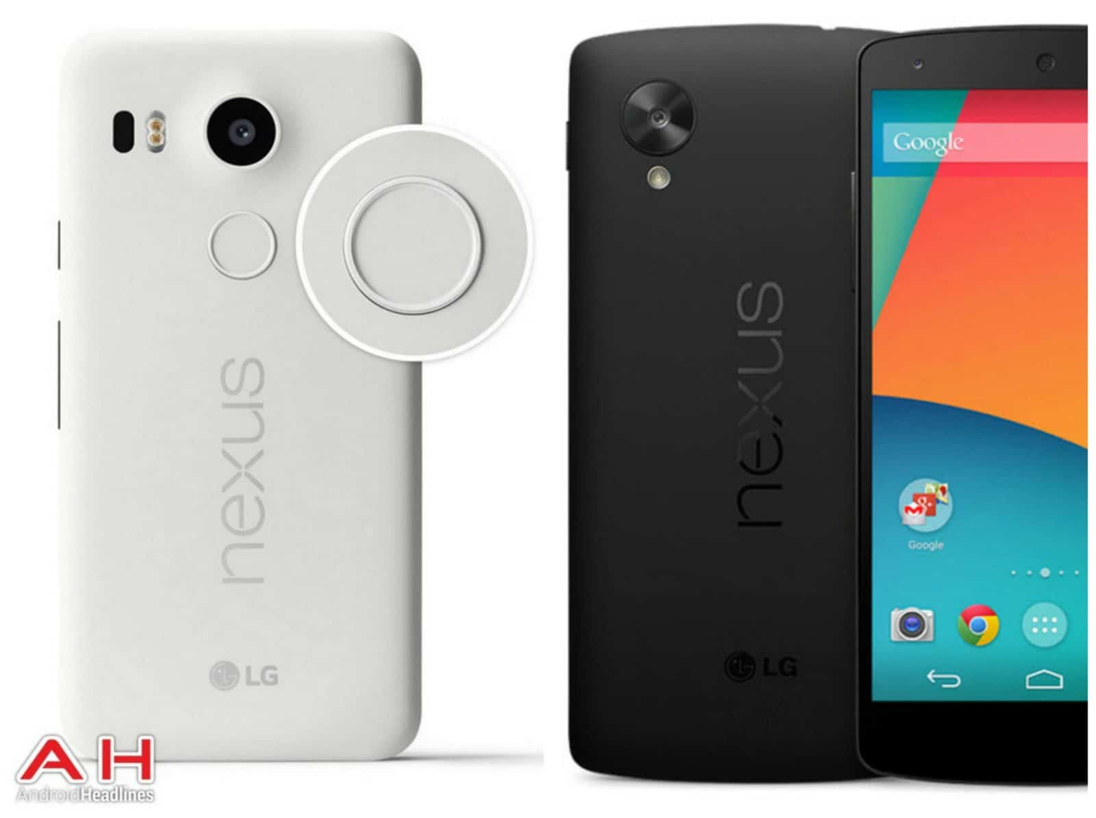 Phone Comparisons: LG Nexus 5X vs LG Nexus 5 (2013 ...