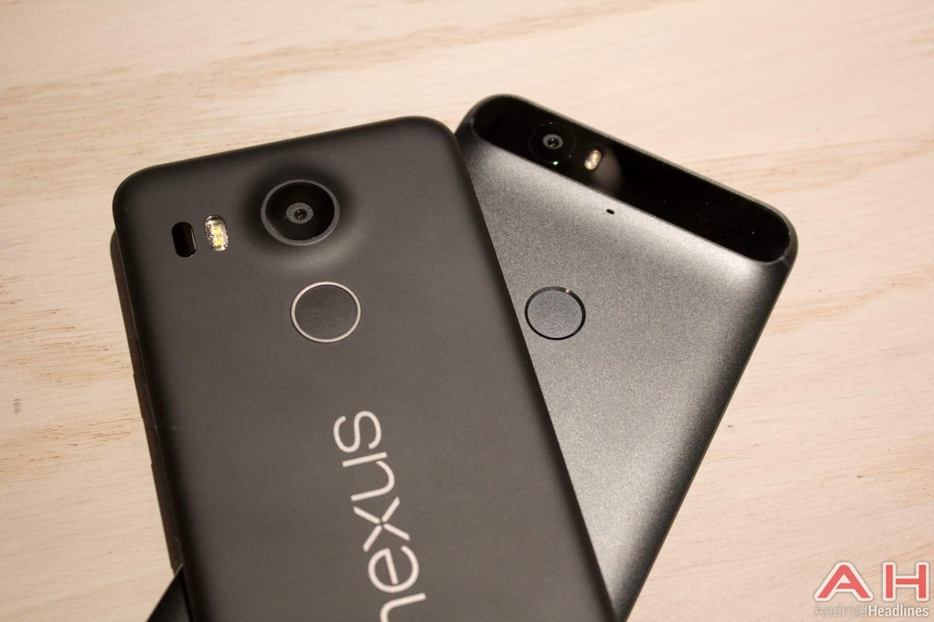 Nexus 5X vs Nexus 6P AH 8