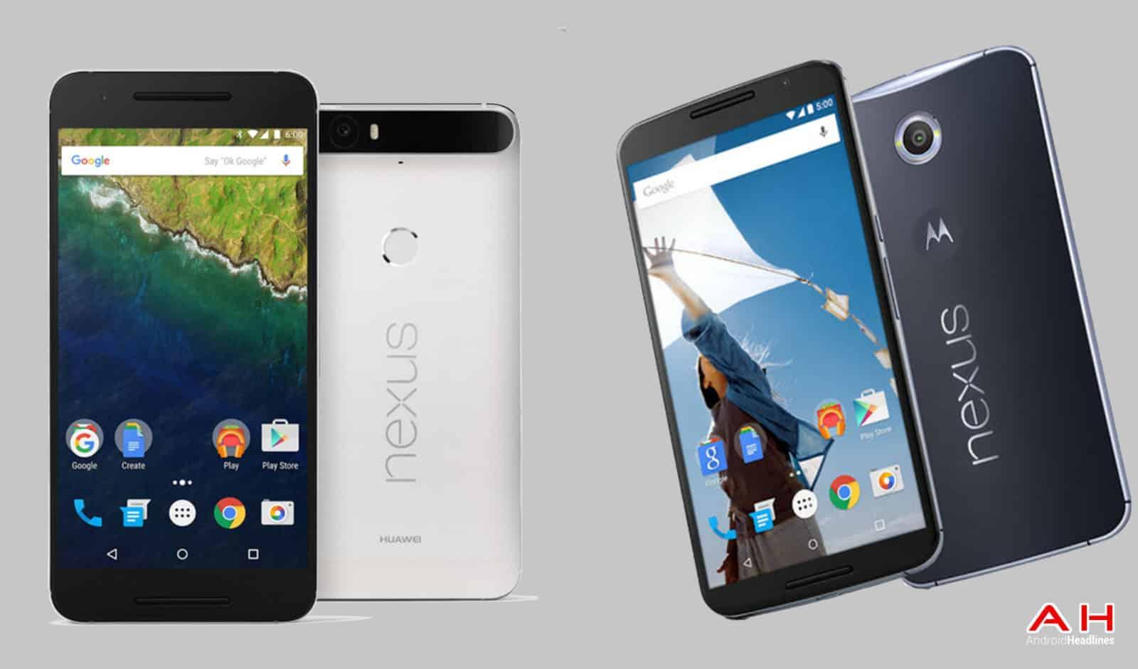 Nexus 6 vs Nexus 6P cam AH