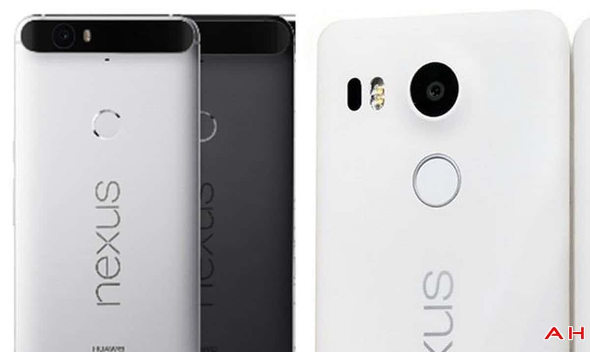 Nexus 6P vs Nexus 5X cam AH