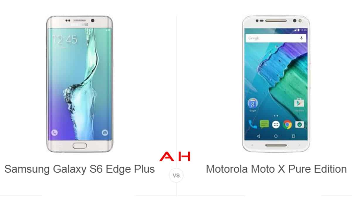 S6 Edge+ vs Moto X Pure Edition cam AH