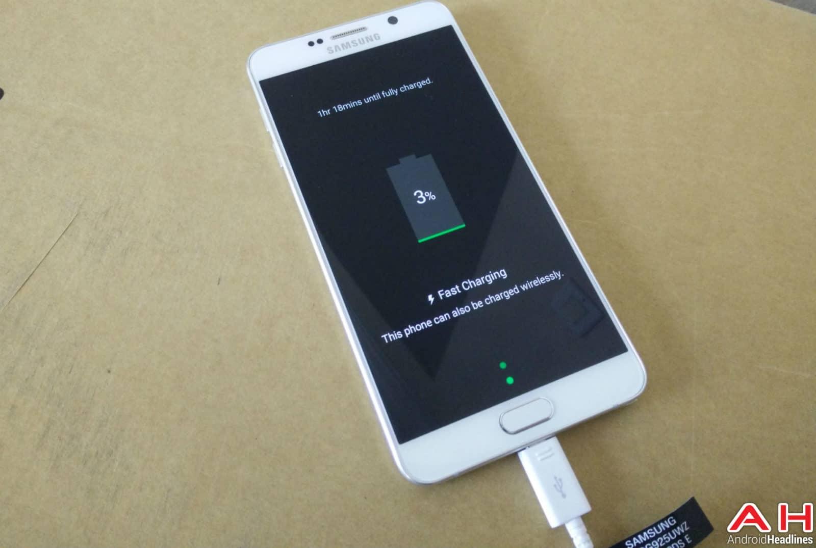 Samsung Galaxy Note 5 Charging AH