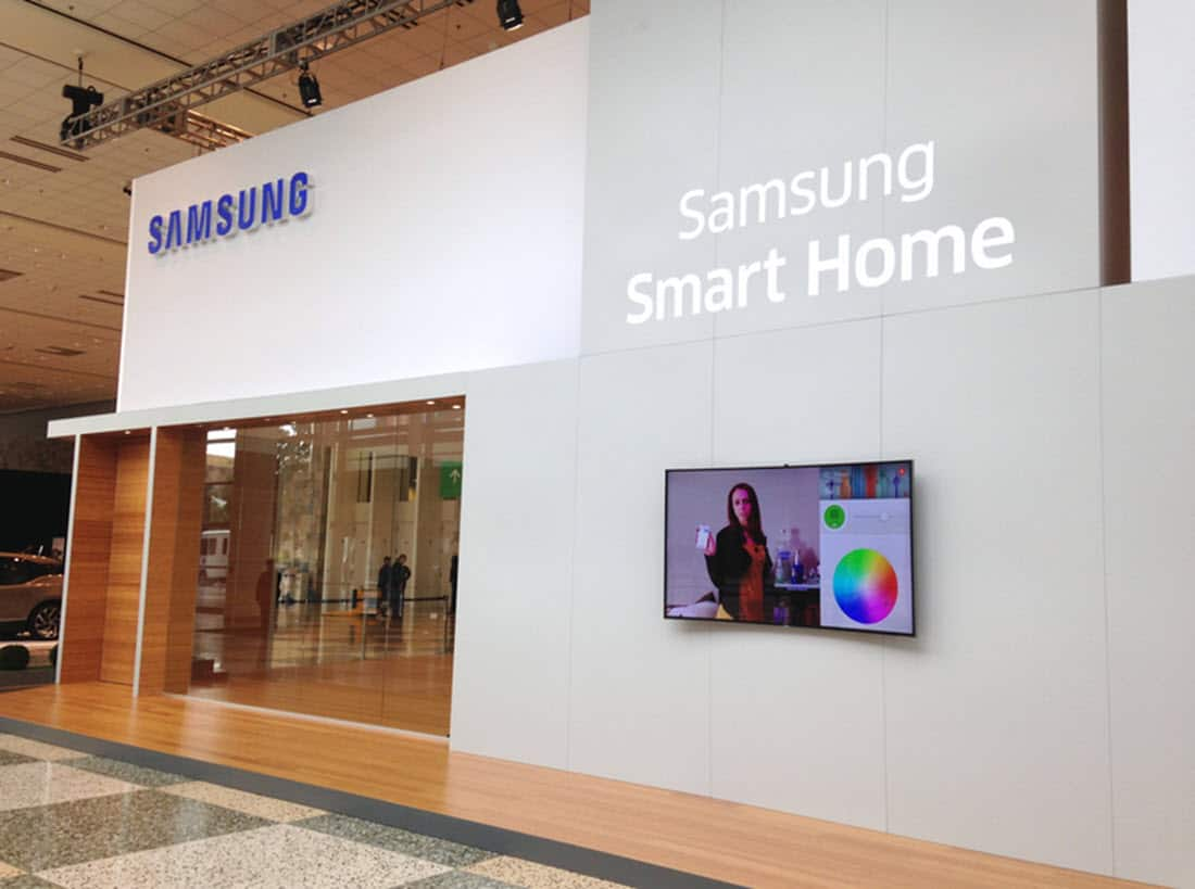 Samsung SmartThings Store Front