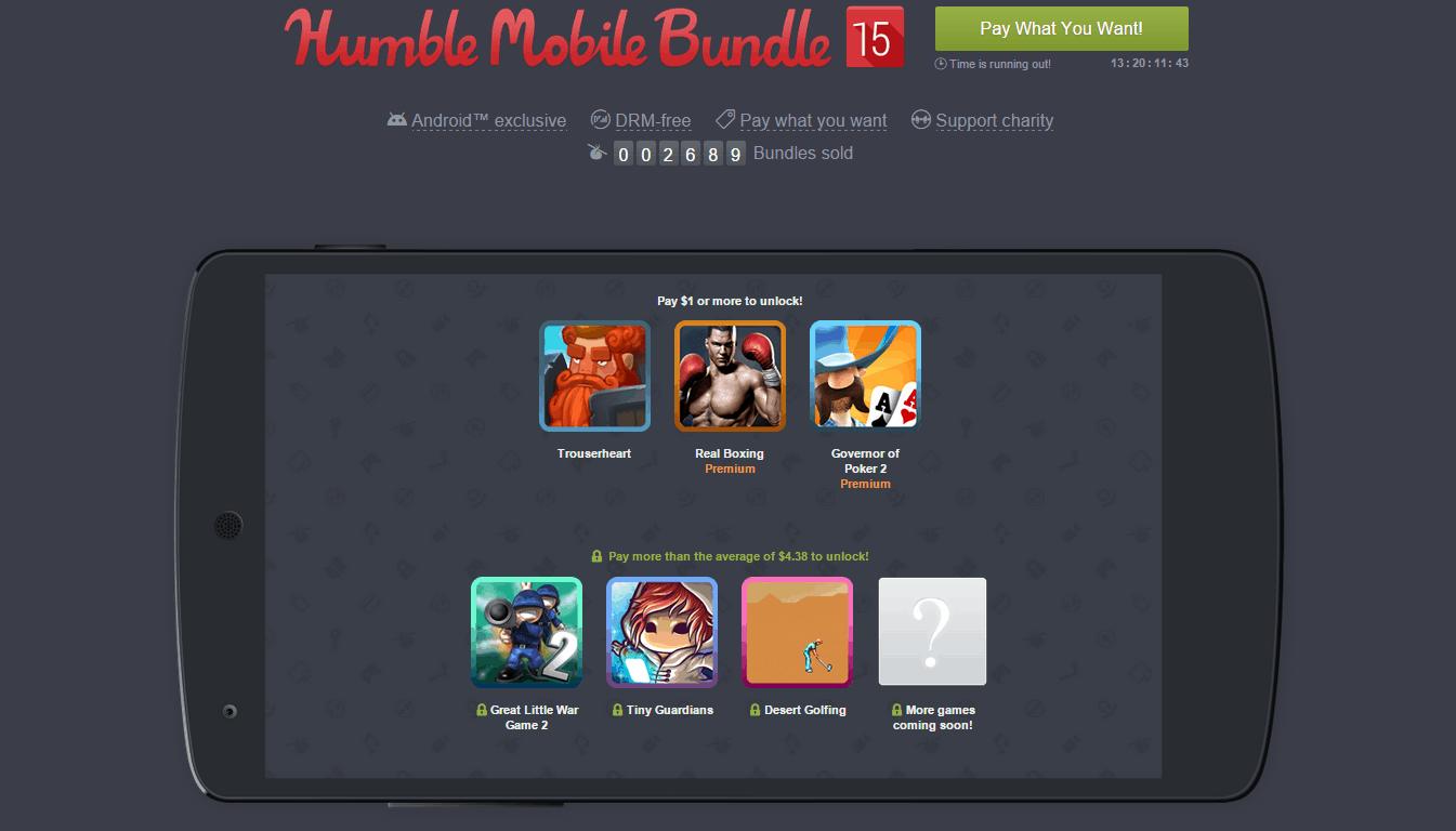 Humble Mobile Bundle 15