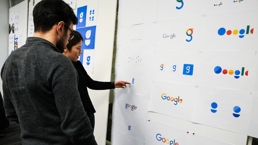 Google Logo options