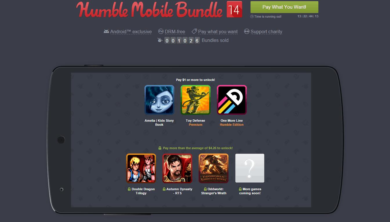 Humble Mobile Bundle 14