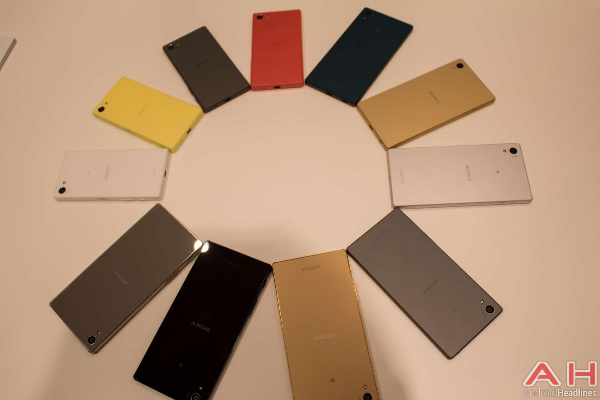 Sony Xperia Z5 LINE AH 1