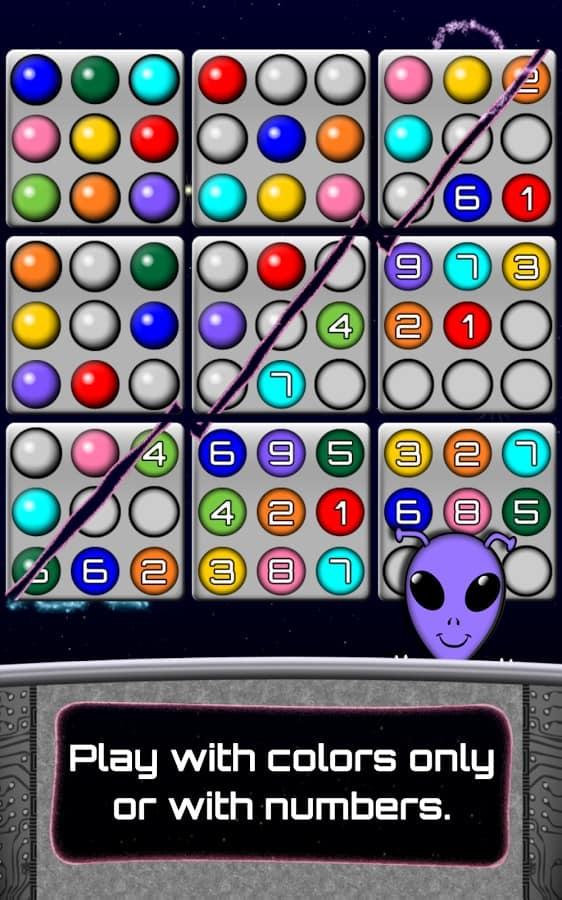 Sudoku In Space