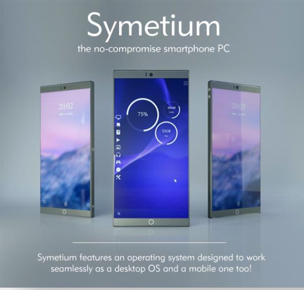 Symetium smartphone Indiegogo campaign_1