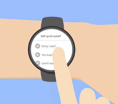 TALKEY - SMS on Android Wear