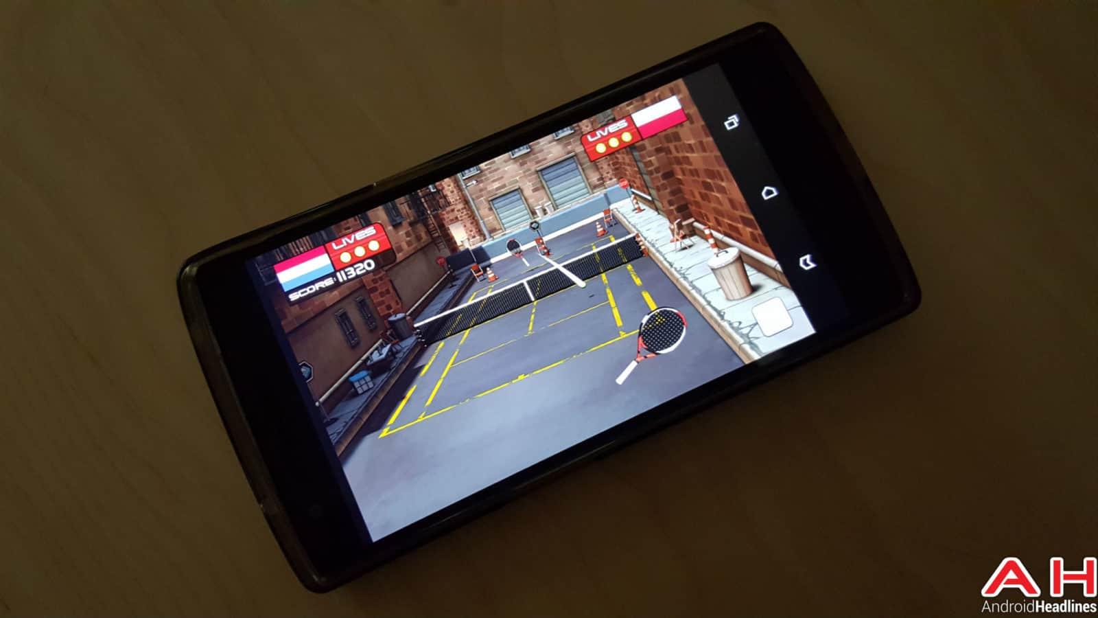 Tennis Game App AH