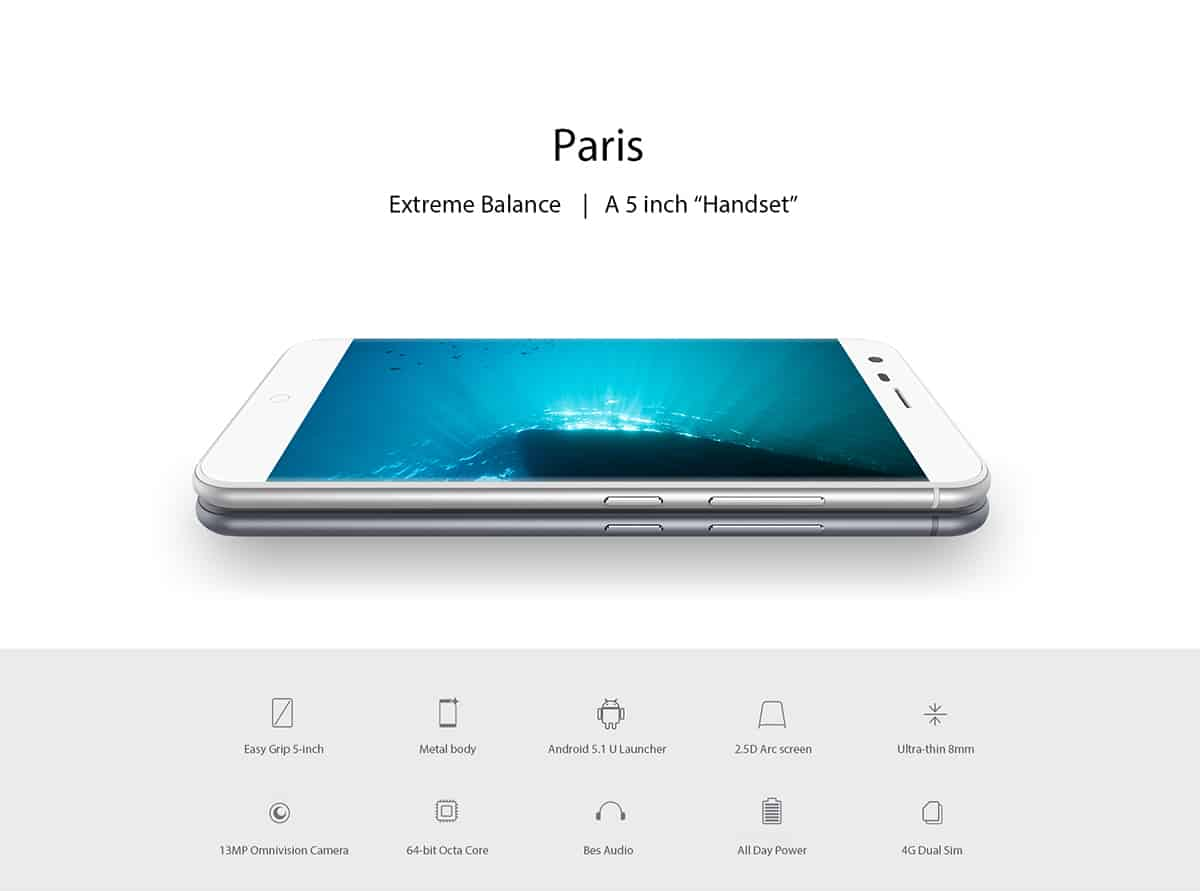 Ulefone Paris GB 01