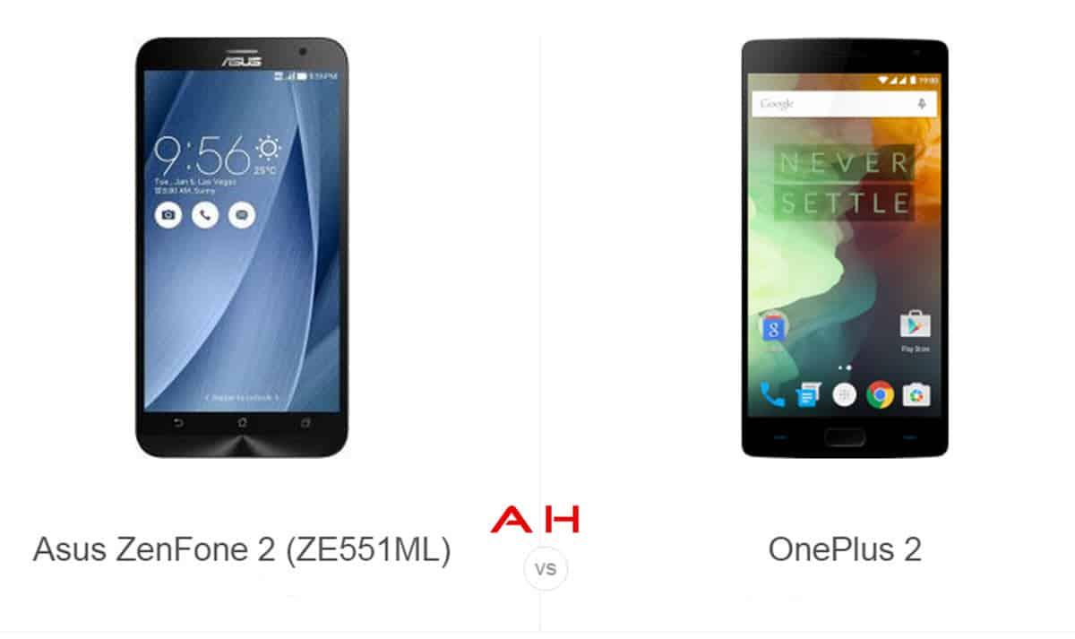 ZenFone 2 vs OnePlus 2 cam AH