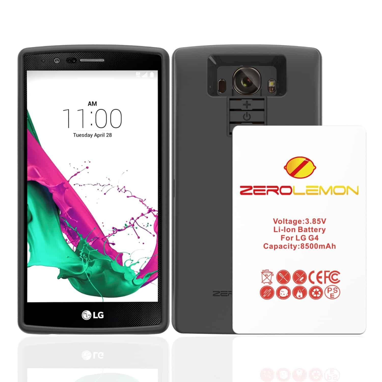 Zerolemon LG G4 8500 mAh Battery KK