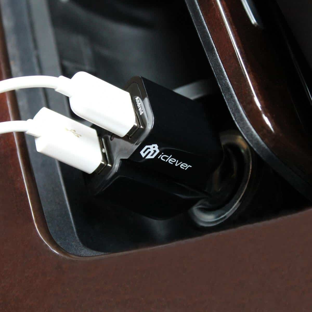 iClever car charger 05
