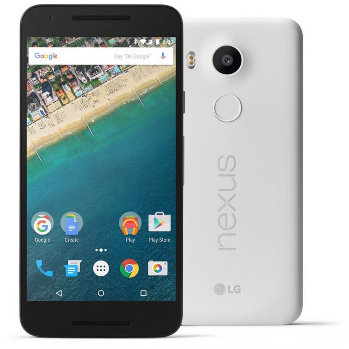 nexus 5x press
