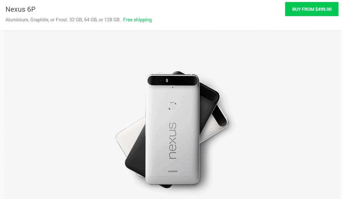 nexus 6p pre-orders