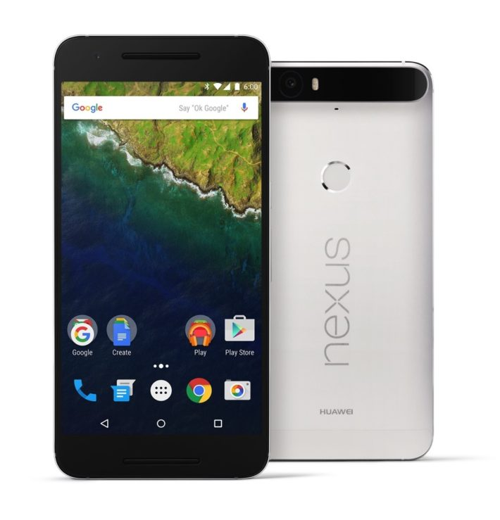nexus 6p press