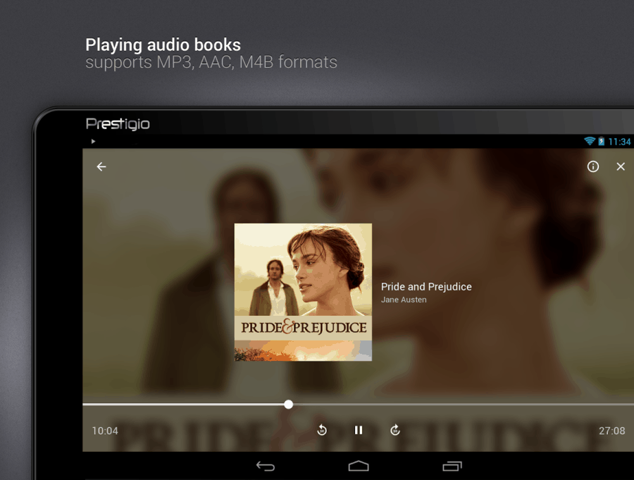 prestigio audiobook