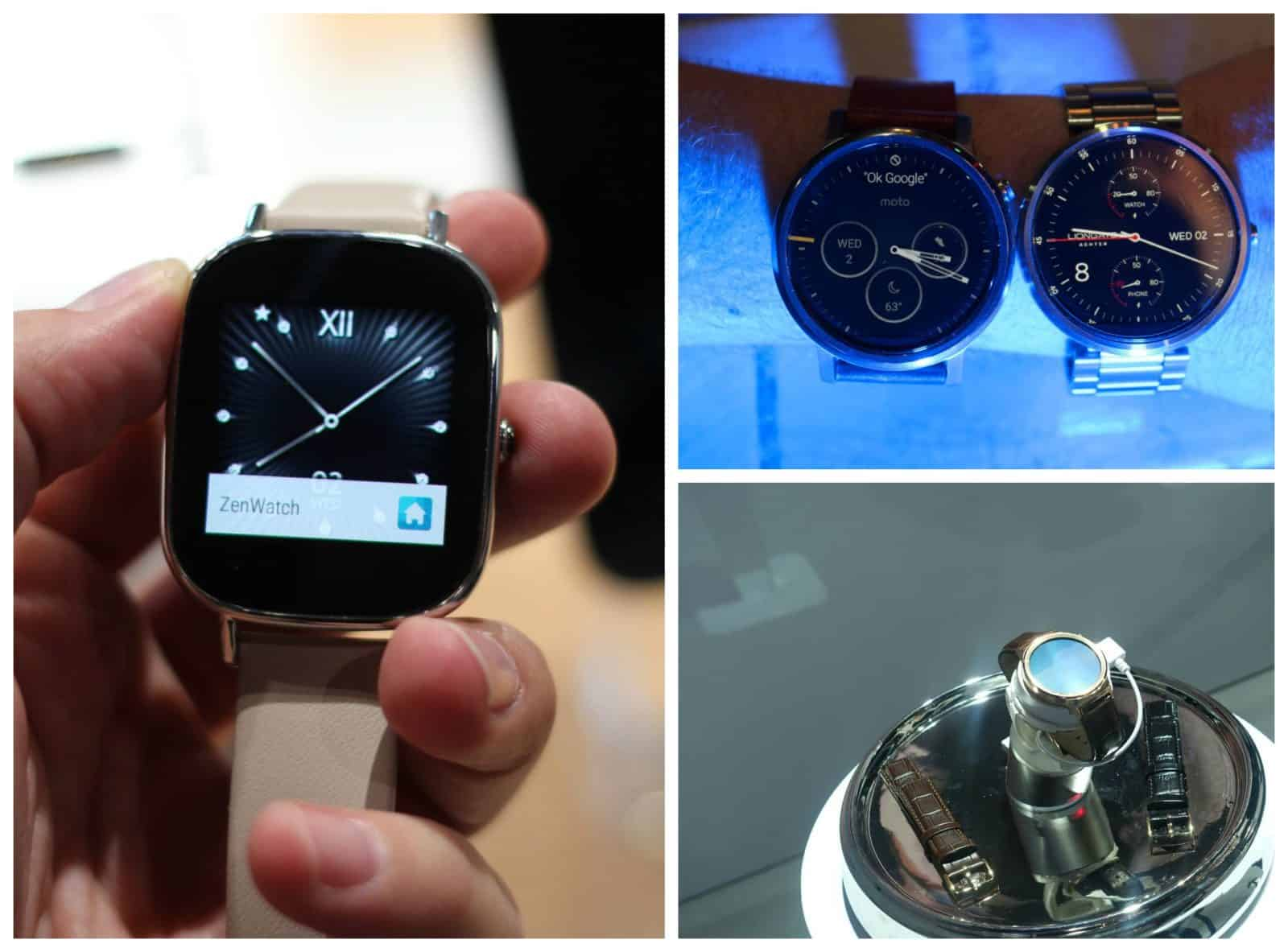 smartwatch poll collage