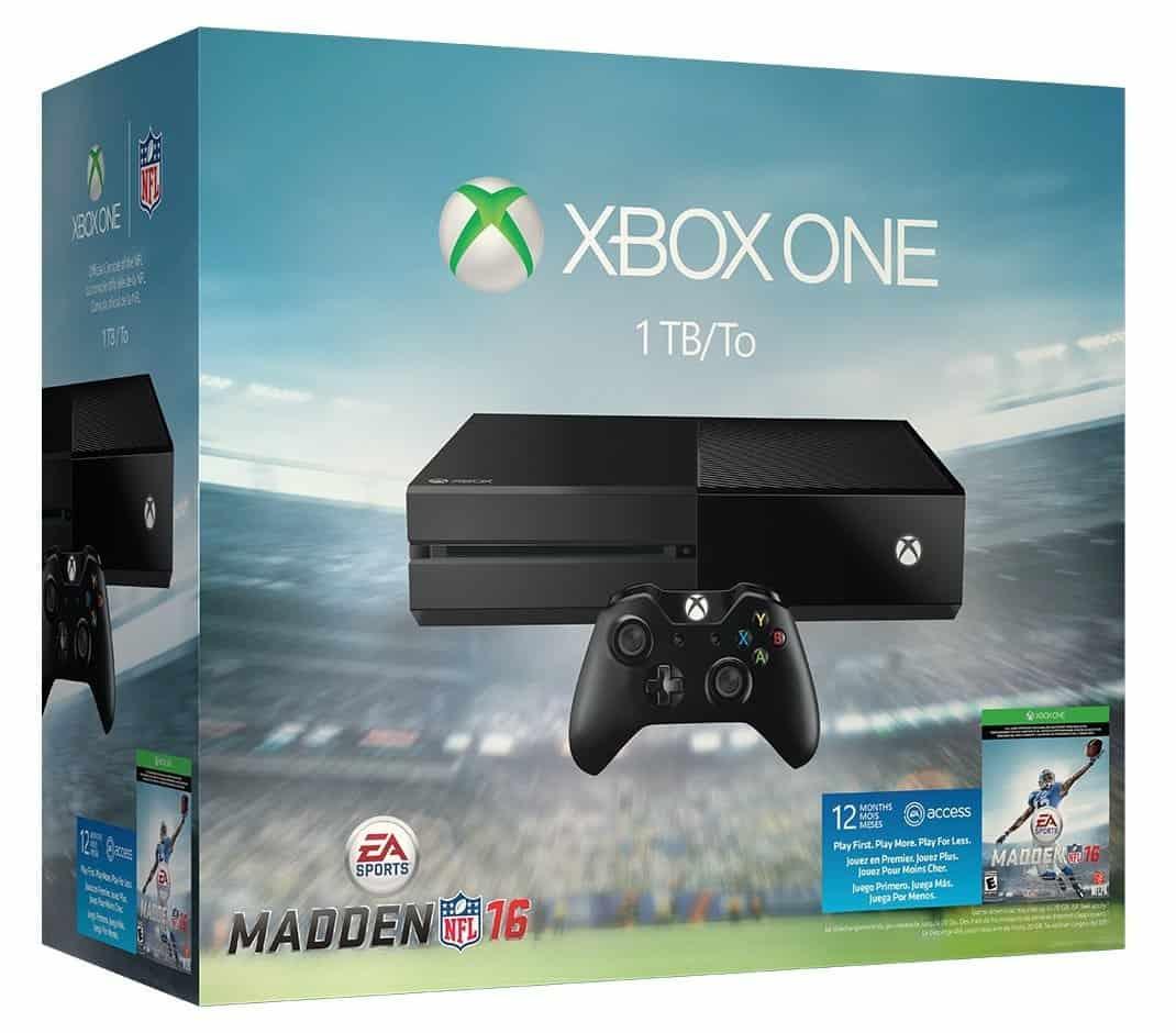 Xbox One 1TB Madden 16 bundle