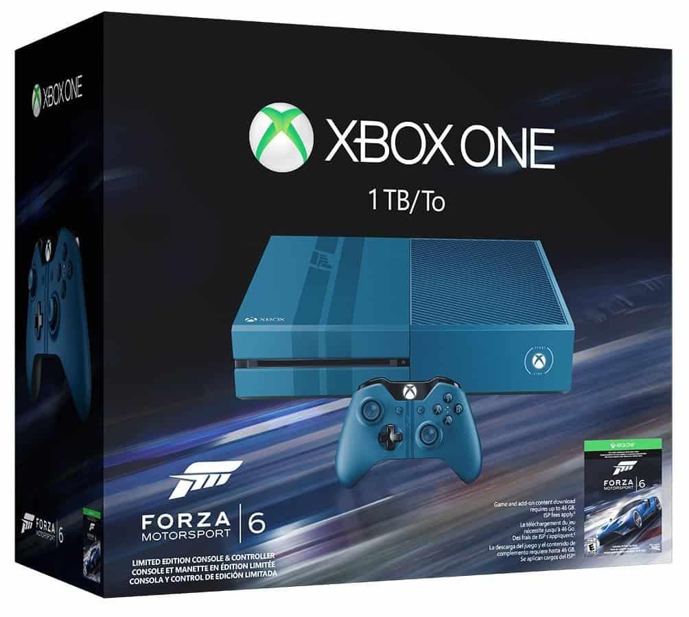Xbox One 1TB Forza 6 LE Bundle