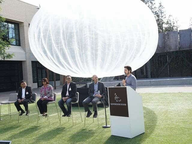Indonesia Project Loon Announcement Sergey Brin Mike Cassidy