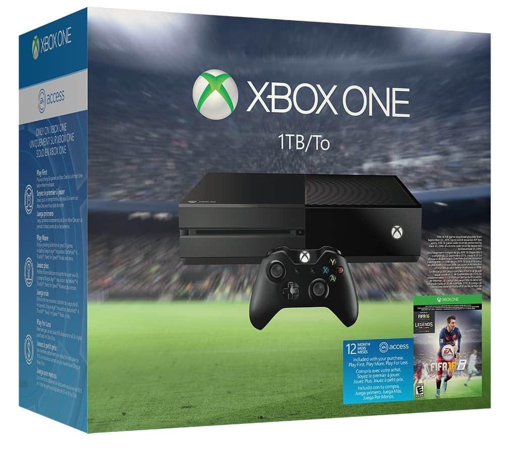 Xbox One 1TB FIFA 16 bundle