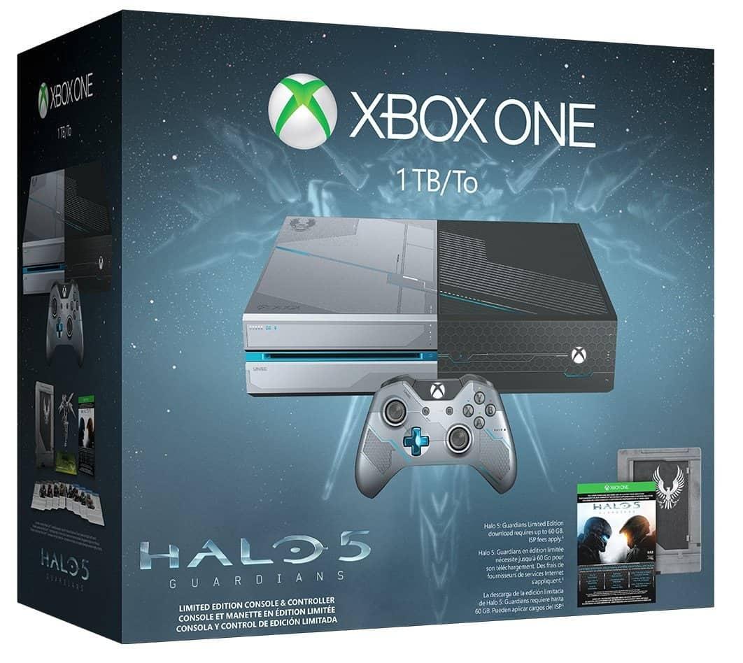 Xbox One 1TB Halo 5 LE bundle