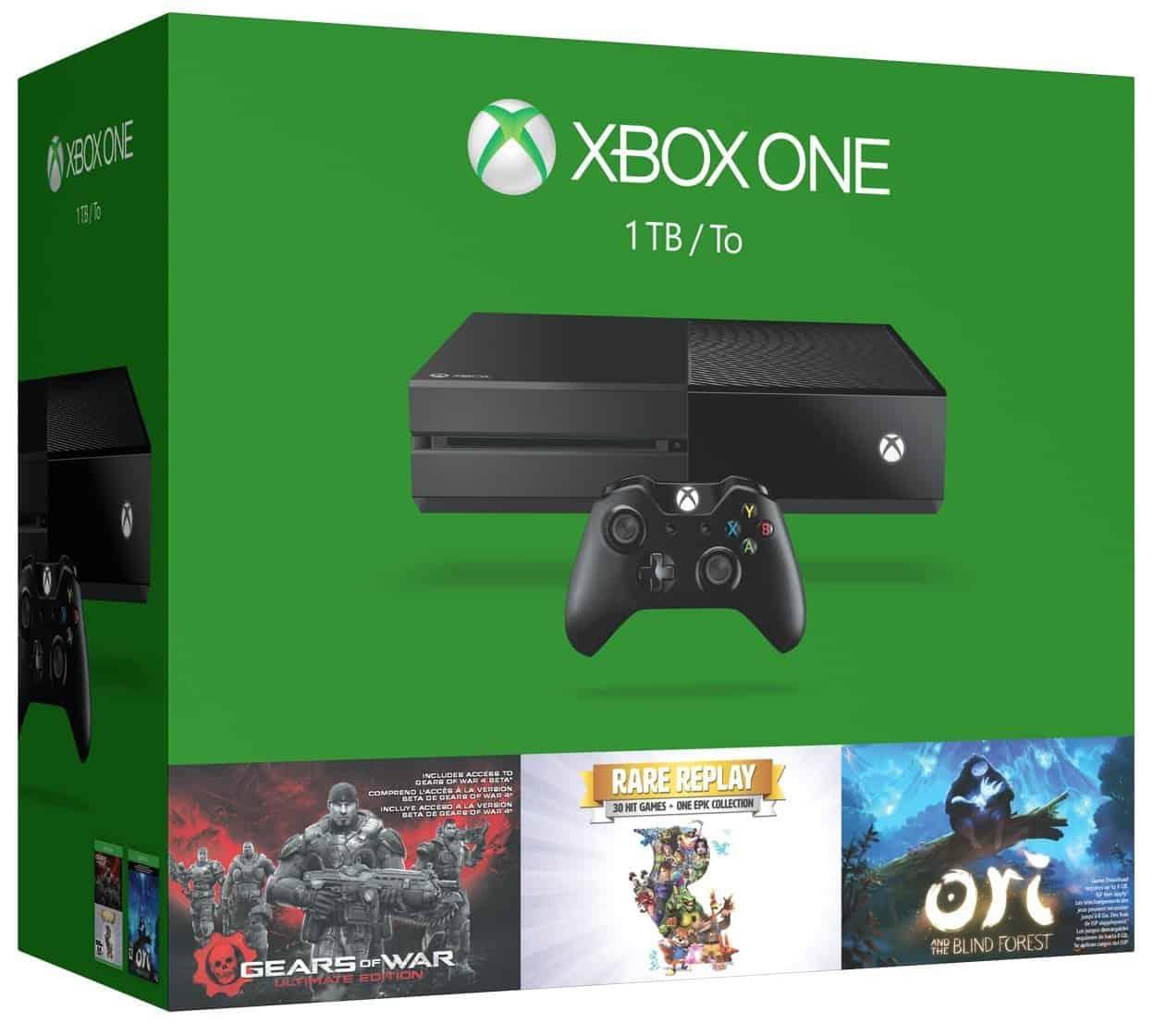 Xbox One 1TB 3-games bundle