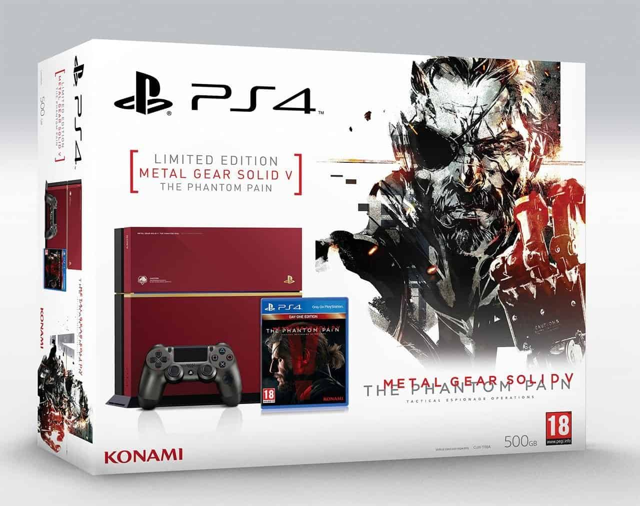 PS4 MGSV Bundle
