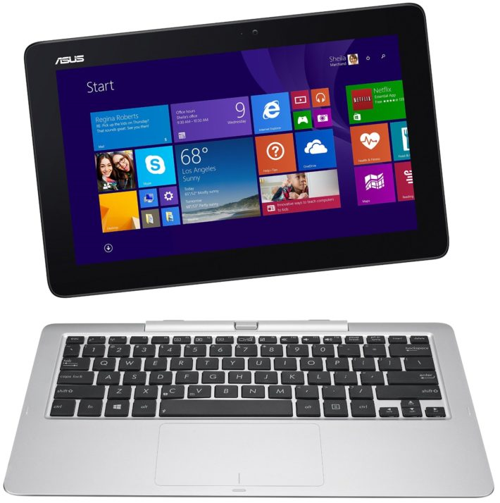 ASUS Transformer Book 12-Inch T200TA-C1-BL 2-in-1 Detachable Touchscreen Laptop, 4 GB RAM, 64 GB Storage