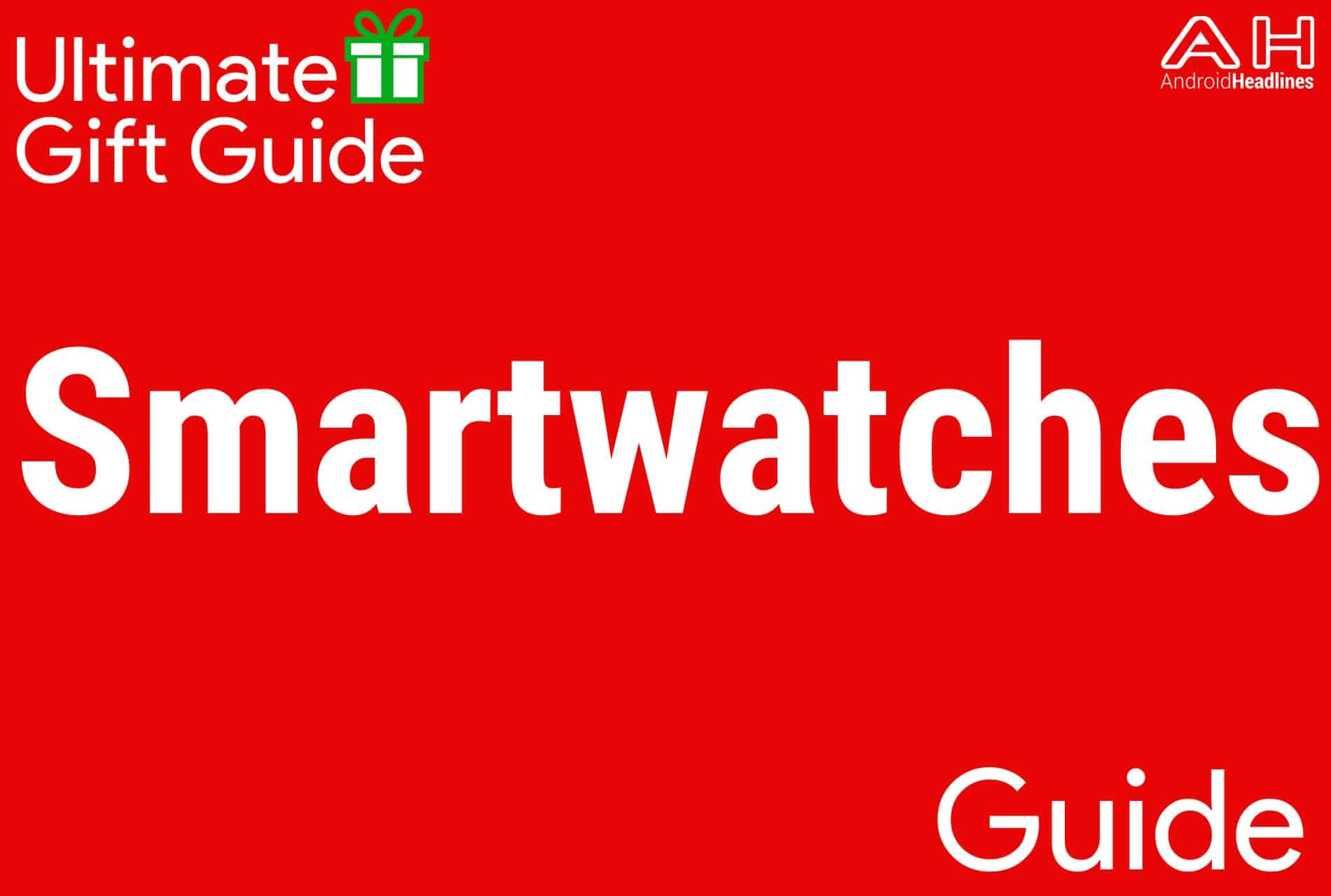 Android Smartwatches - Gift Guide 2015