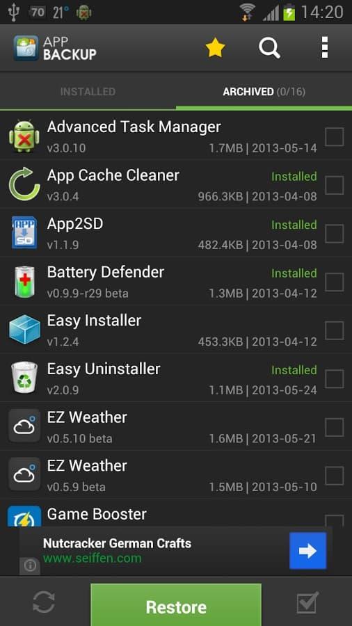 App Backup & Restore apk