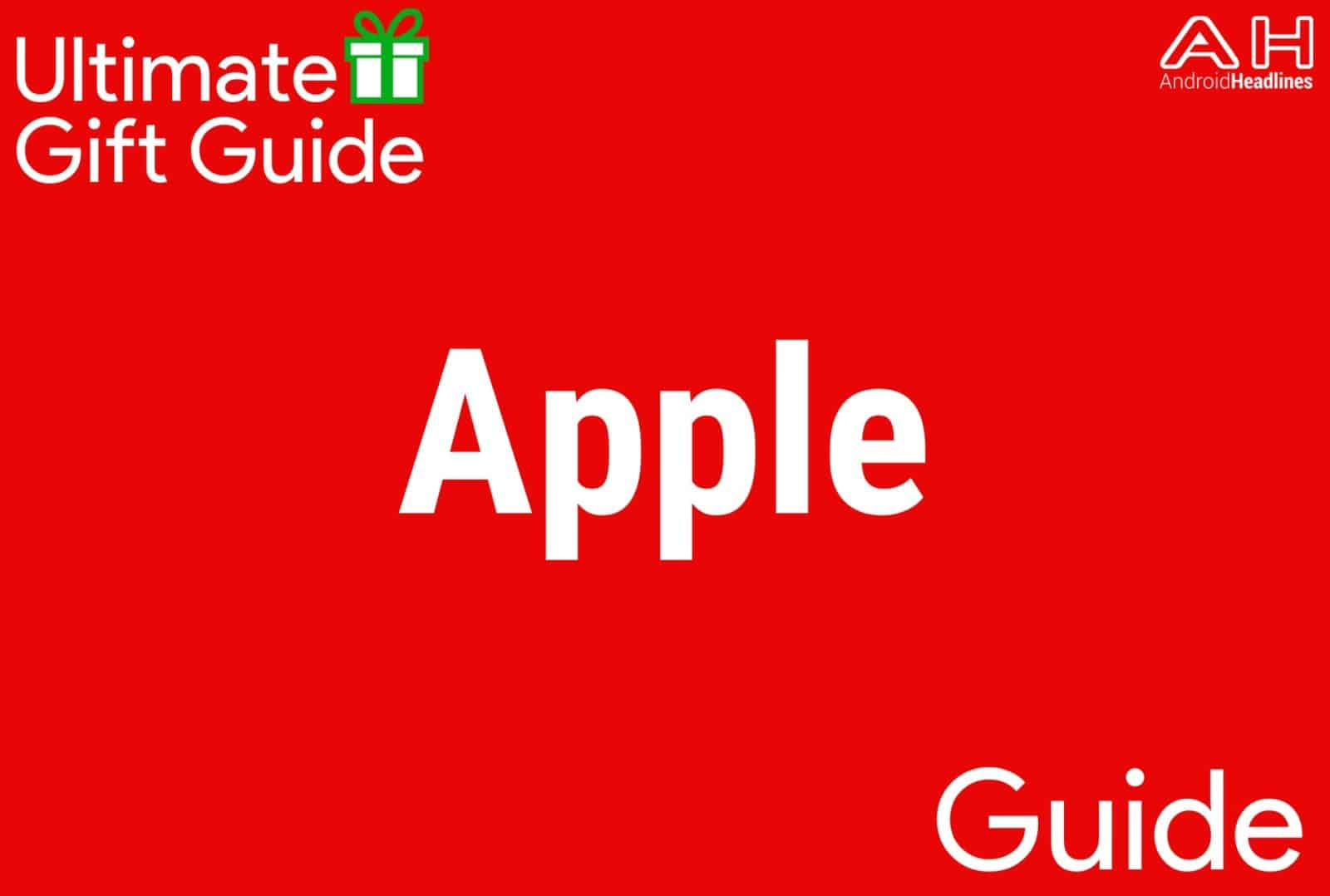 Apple Products - Gift Guide 2015