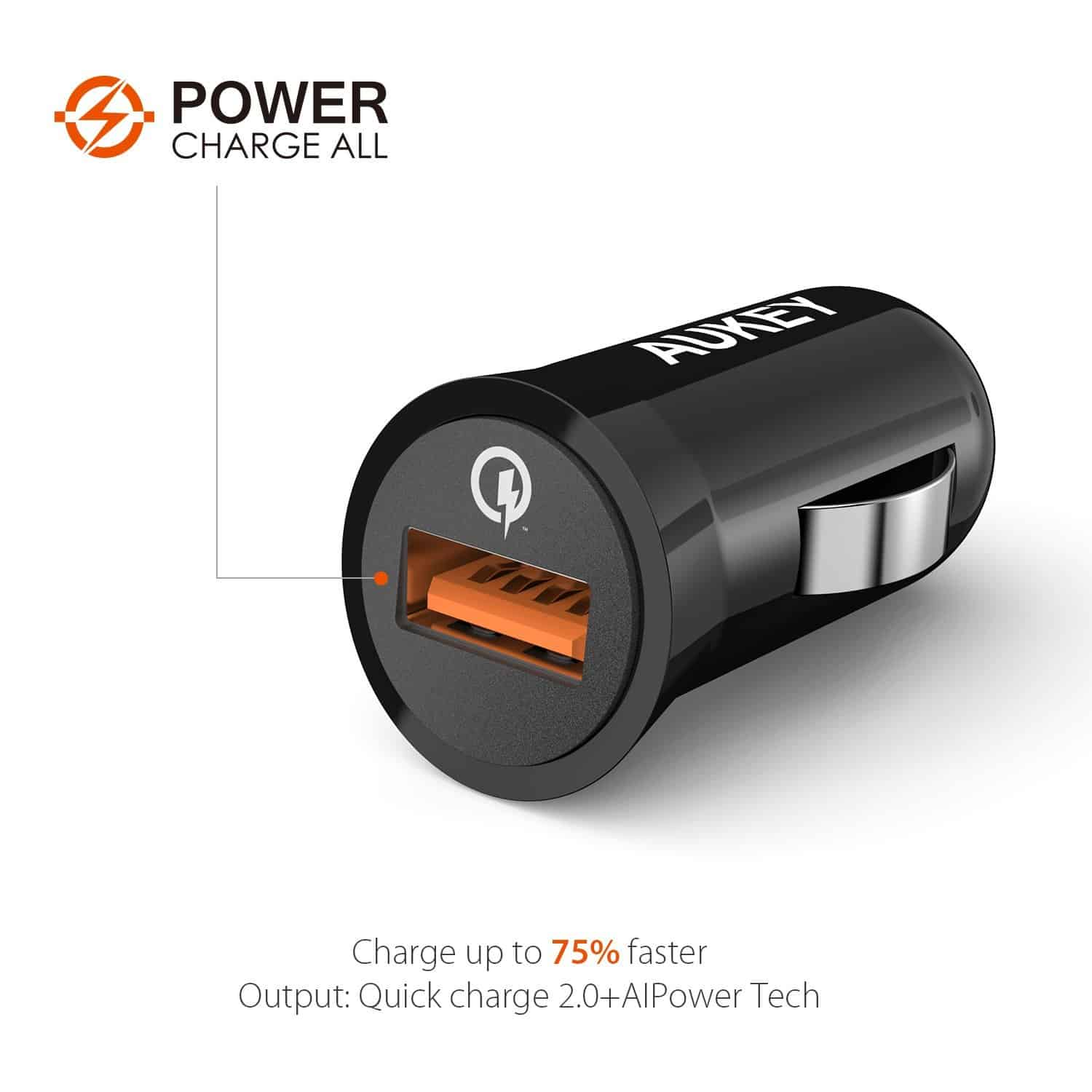 Aukey PowerAll Car Charger 02