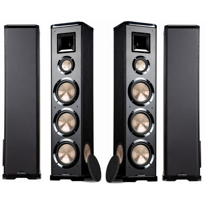 BIC Acoustech PL-980L-PL-980R 3-way Floor Speakers