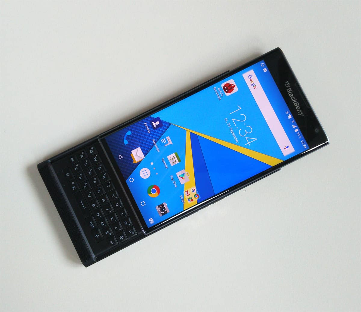 BlackBerry pre release hands on 1