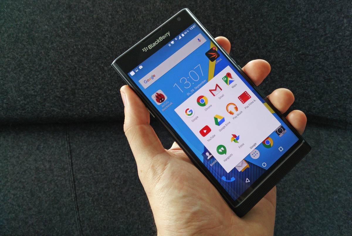 BlackBerry pre release hands on 7