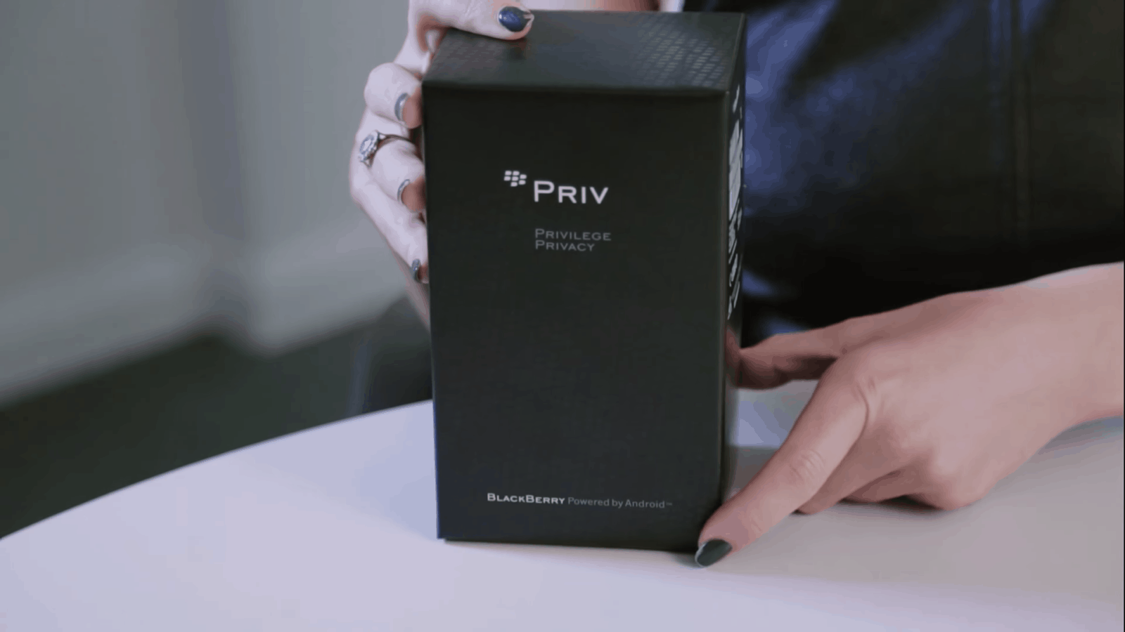 Blackberry Priv Unboxing
